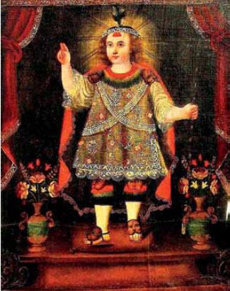 Niño Jesús En Cusco Colonial Y Azapa Contemporáneo Un
