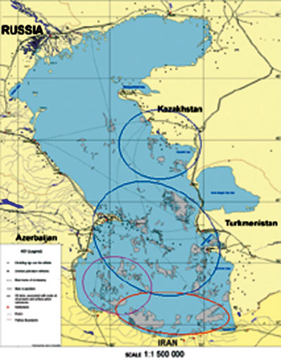 MAPPING OIL SPILLS IN THE CASPIAN SEA USING ERS-1/ERS-2 SAR ...