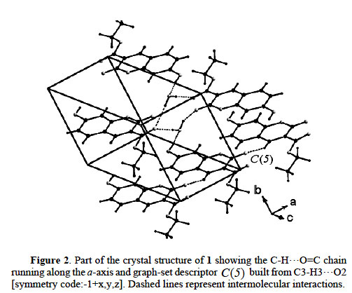 Hydrogen Bonded Supramolecular Array In The Crystal Structure Of