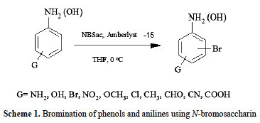 Regioselective And High Yielding Bromination Of Phenols And Anilins