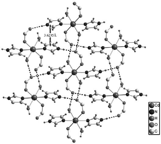 Synthesis Structure And Photoluminescent Property Of A Cadmium