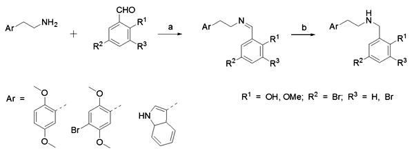 SYNTHESIS OF N-(HALOGENATED) BENZYL ANALOGS OF SUPERPOTENT