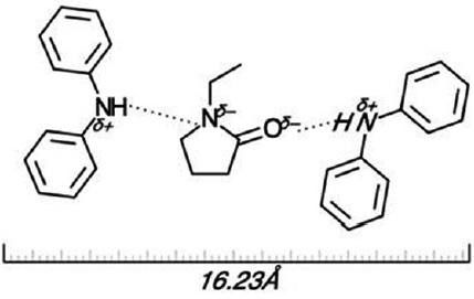 preparation of molecularly imprinted polymers for diphenylamine Monomer Drawing figure 5 scheme of possible nonbonding interactions between dpa and the monomer 1 vinyl 2 pyrrolidone