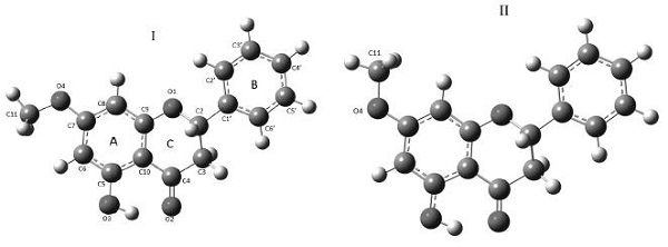 ELECTRONIC AND STRUCTURAL PROPERTIES OF 5-HYDROXY-7-METOXYFLAVANONE