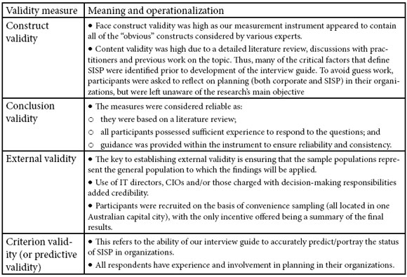 Strategic Information Systems Planning: An Empirical Evaluation of ...