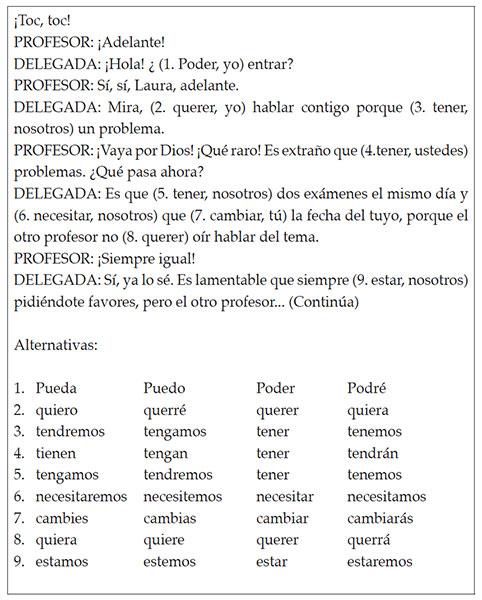ORDEN DE ADQUISICIÓN EN ESPAÑOL COMO LENGUA EXTRANJERA: MODALIDAD SUBJUNTIVA