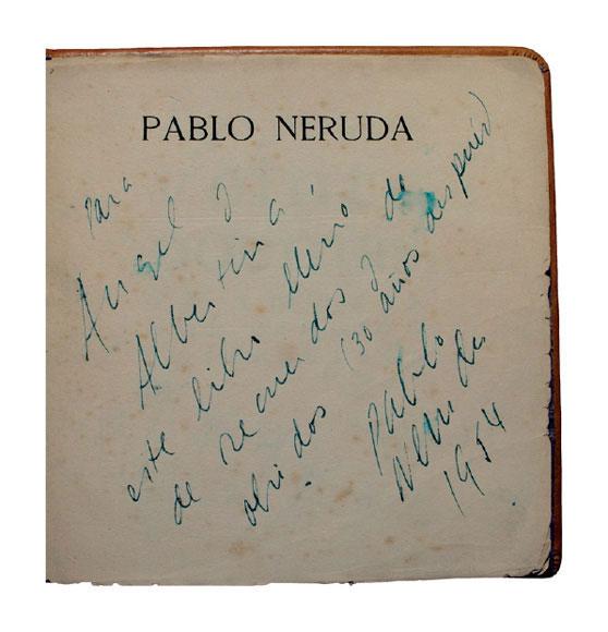 Acotaciones Sobre Originales De Pablo Neruda