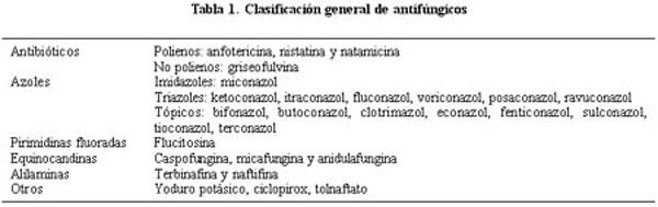 son antifúngicos considerados antibióticos