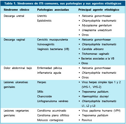 Caracteristicas de las enfermedades de transmision sexualidad