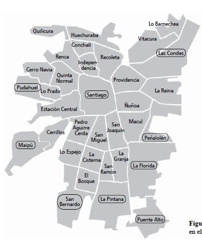 Faaqidaad Mapa De Comunas De Santiago