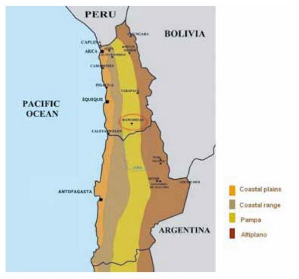 Desierto De Atacama Mapa America.Domesticando El Desierto Medio Ambiente Y Ocupaciones
