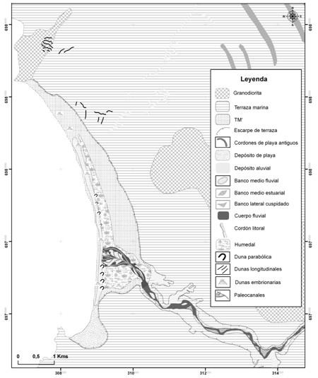 Aspectos Geodinámicos De Un Paleoestuario Del Desierto