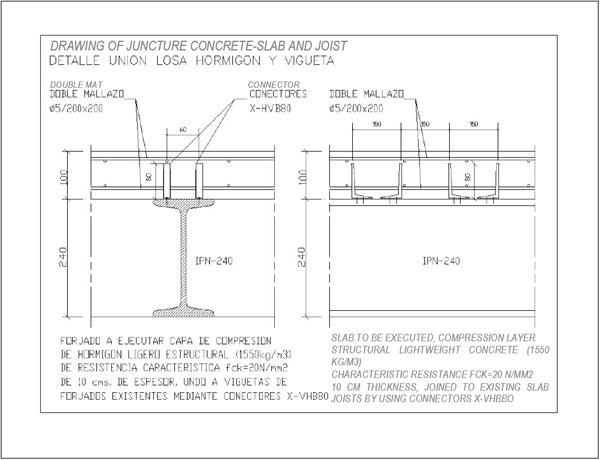 Criterios para el refuerzo de estructuras met licas - Forjado viguetas metalicas ...