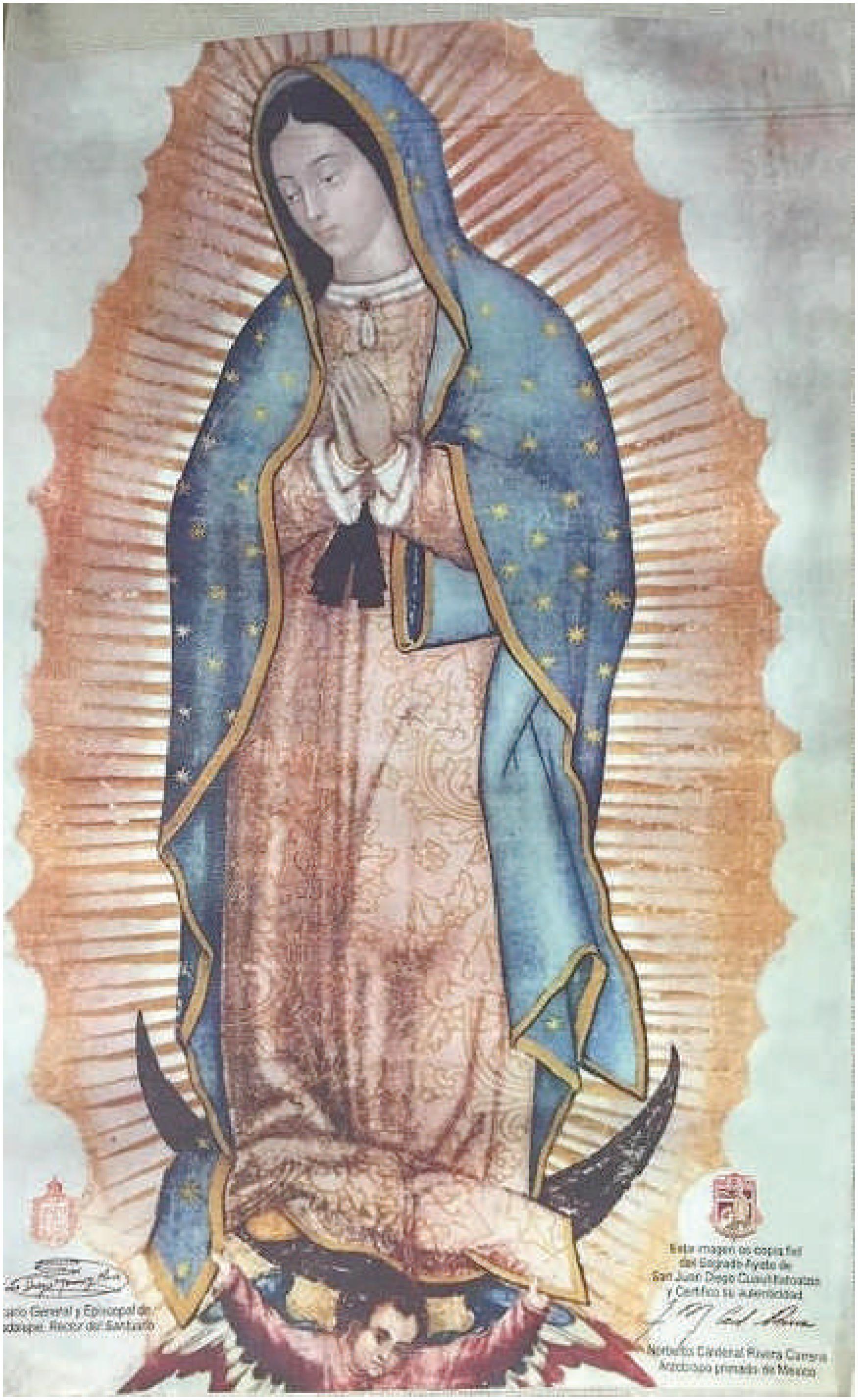 Mostrar Un Milagro El Caso De La Guadalupana Y La Nueva Basilica