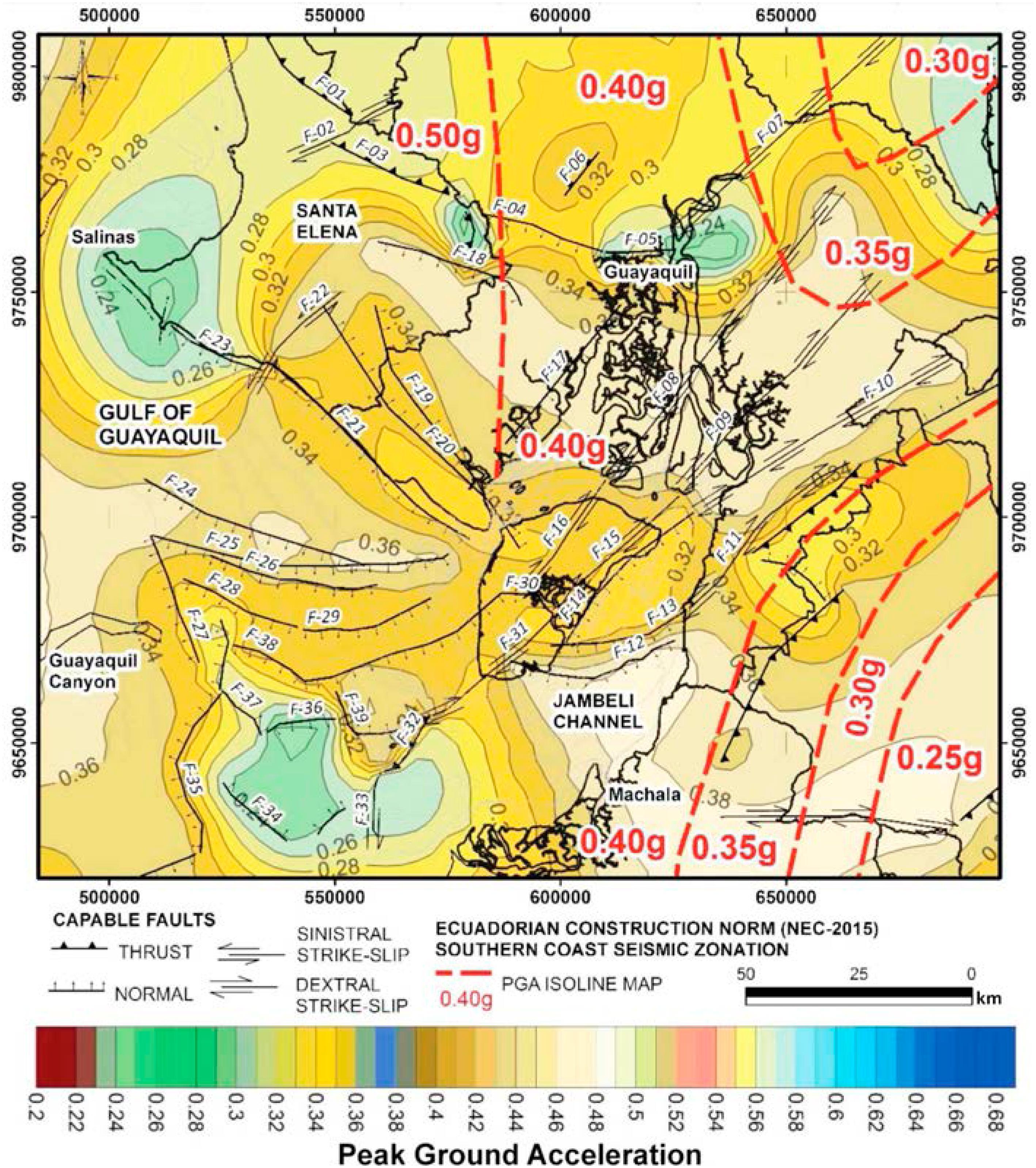 Caracterización De Fallas Geológicas Capaces De Generar
