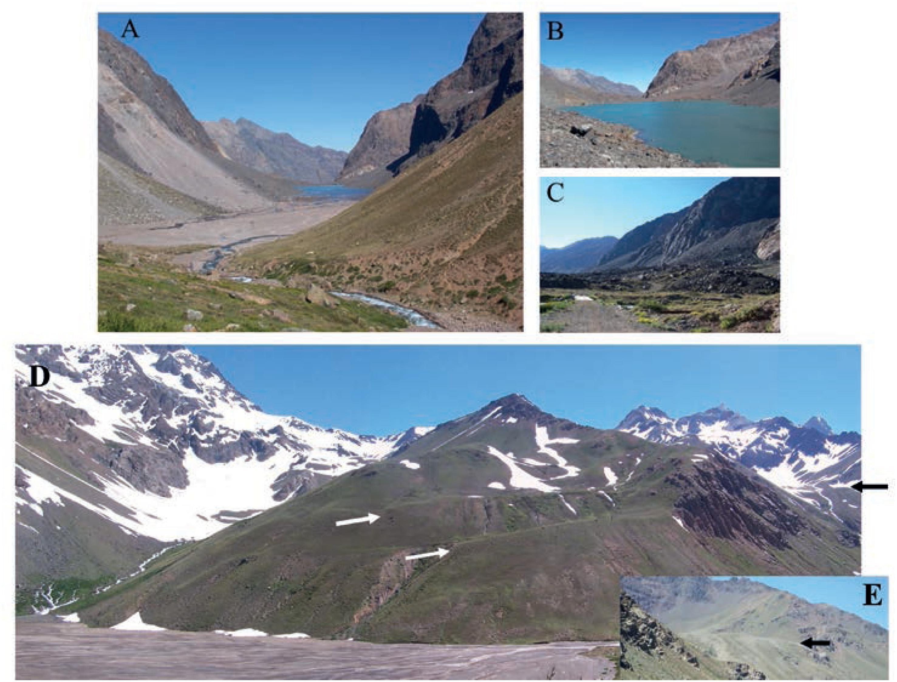 Evolución geomorfológica y glaciar de las hoyas de los ríos