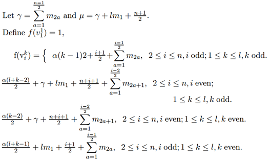 Vertex graceful labeling of some classes of graphs the vertex labeling of pendant vertices at v1 k v2 kv3 k vn k is given by aloadofball Gallery