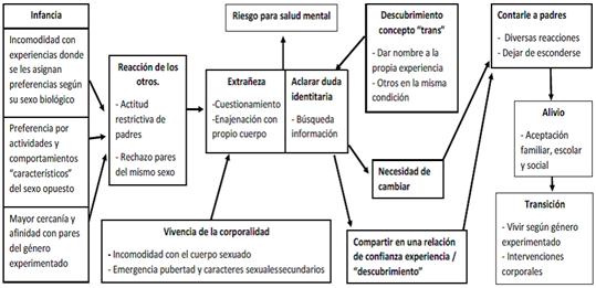 La Identidad Transgénero en la Adolescencia Chilena: Experiencia Subjetiva del Proceso