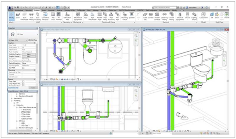 Analysis of the Implementation of BIM Technology in Project and