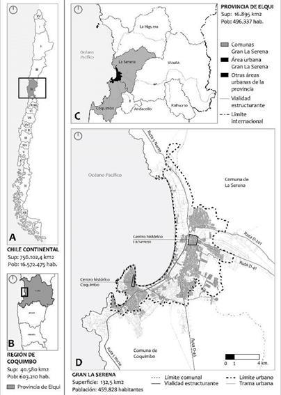 Conformación Metropolitana Desde La Fragmentación El Proceso De Conurbación Del Gran La Serena
